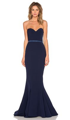 Shop for Elle Zeitoune Arianna Gown in Navy at REVOLVE. Free 2-3 day shipping and returns, 30 day price match guarantee.