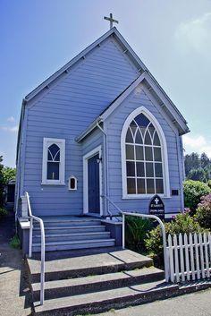 St. Marys Episcopal Church - Ferndale, California