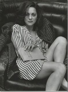 Marion Cotillard - a gorgeous actress on the silver screen and such a romantic sense of style. We loved her in Midnight in Paris!