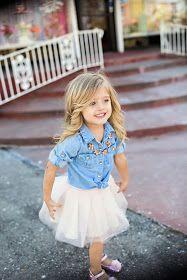A Tulle Skirt is ALWAYS a good idea #LittleFashionista