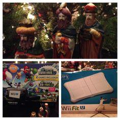 Los Reyes Magos llegaron cargados de sorpresas #WiiFitU #Nintendo #Partners