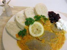 Tenderloin on Cream from Slovakia & Czech Republic (Sviečková na Smotane) Slovak Recipes, Czech Recipes, Hungarian Recipes, Hungarian Food, Ethnic Recipes, Polish Recipes, Polish Food, How To Cook Beef, International Recipes