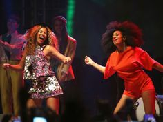 Beyoncé y Solange Knowles (© Getty)