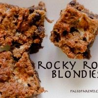 Rocky Road Blondies | Paleo, uses 2 eggs