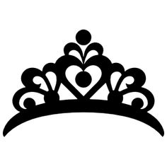 Crown Drawing, Arte Country, Princess Tiara, Tiaras And Crowns, American Made, Vinyl Decals, Tumbler, Stickers, Miami