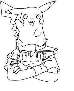 free printable pikachu coloring pages for kids - Free Colouring Pages For Children