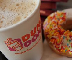 Donuts coffee dunkin