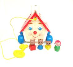 Vintage Fisher Price Goldilocks and The Three Bears House on Etsy, $42.64 CAD
