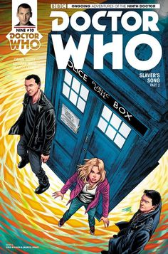 Doctor Who: The Ninth Doctor (Cover Artist: Cris Bolson) Release Date: Doctor Who 9, Doctor Who Comics, Ninth Doctor, Comic Book Covers, Comic Books Art, Book Art, Rose And The Doctor, Pulp Fiction Book, Dr Who