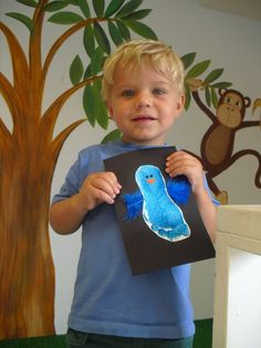 Footprint Bird Craft - Perfect for Spring!