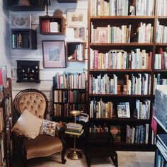 Chair and library