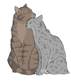 Dustpelt and Ferncloud: Thunderclan