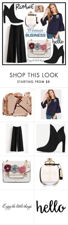 """""""Romwe 9./8"""" by b-necka ❤ liked on Polyvore featuring Surratt, Coach and romwe"""