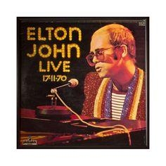 Glittered Elton John Live Album
