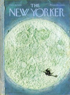 11 Best New Yorker Halloween Covers. #vintage #Halloween #magazines