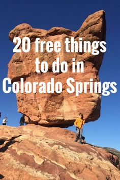20 FREE, FUN, FAMILY-FRIENDLY things to do in Colorado Springs!