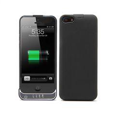 BATERIA FUNDA PARA IPHONE5 31.0018 http://www.devuelving.com/producto/bateria-funda-para-iphone5-31.0018/11213 Batería funda para iPhone 5. Recarga tu batería en esos momentos en que no tienes acceso a la red eléctrica. Se acopla perfectamente al tamaño de tu