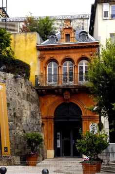 Fragonard perfume building in Grasse, France