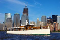 Classic Harbor Line's 1920's style commuter yacht, the Yacht Manhattan.