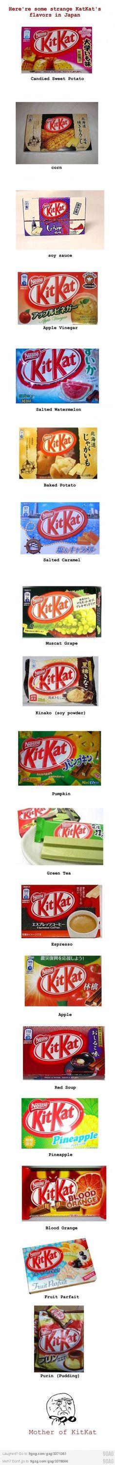 Asian KitKat O_o!