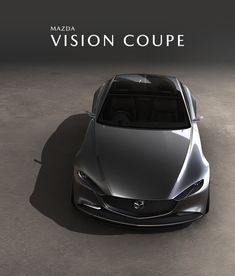 Mazda isn't showing a rotary-engined sports car, but it's still turning heads with the Vision Coupe concept. The Mazda Vision Coupe is a four-door fastback in the vein of the Audi Bmw, Audi, Jaguar Land Rover, Kia Optima, Mazda Concept Car, Honda Accord, Designer Automobile, Mazda 3 Sedan, Hover Car