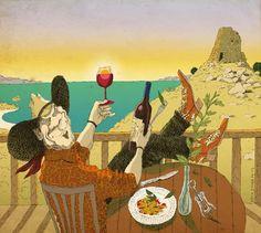 #DavidPintor #caricature #caricatureillustration #illustration #cowboy #western #leisure #lifestyle #lindgrensmith