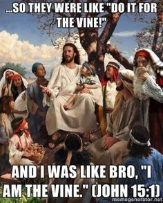 Jesus is the master of social media