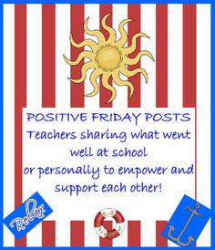 Positive Fridays - Week of March 26th Please come share your positives!