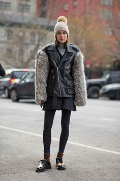 Need winter outfit ideas? Follow all the best street style outside New York Fashion Week for style inspiration here: