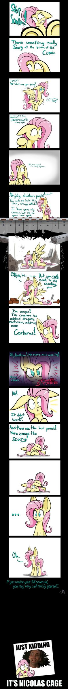 There's a Monster at The End of This Comic by Heir-of-Rick.deviantart.com on @deviantART