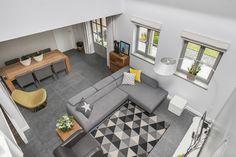 Great birdview-shot livingroom. #photography #architecture #realestate #huistekoop #makelaar #interior #livingroom #houses #interieur