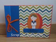 Scrap con Raquetuille: Libro firmas para comunión versión chico