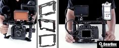 P GearBox DSLR Video Accessory Cage Sale Price ends Tomorrow