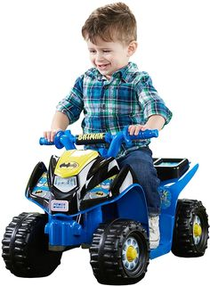 Kids Ride on Vehicle Toy Quad Drive Toddler Power Wheels Sporty Fun Batman for sale online Batman Toys For Kids, Best Kids Toys, Children Toys, Electric 4 Wheeler, Best Scooter For Kids, Kids Atv, Batman Batmobile, Quad Bike, Power Wheels