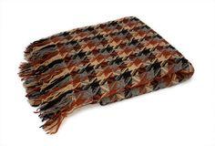 Vintage Pendleton Afghan - 100% Wool - Blanket - Throw. $55.00, via Etsy.