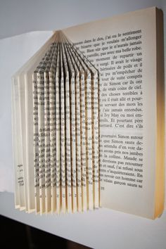 Coucou à tous, Aujourd'hui avec ma petite mamounette, nous nous sommes adonnées au pliage de livres pour créer de jolis hérissons porte-...