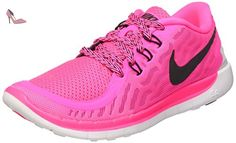 best sneakers 1fd77 16226 Nike Free 5.0, Chaussures de Running Entrainement fille, Rose (Pink Power  Black