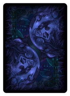 Bicycle R'lyeh Rising playing cards. Card back.