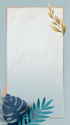 Framed Wallpaper, Flower Background Wallpaper, Phone Screen Wallpaper, Flower Backgrounds, Aesthetic Iphone Wallpaper, Wallpaper Backgrounds, Backdrop Background, Dark Blue Wallpaper, Blue Wallpapers