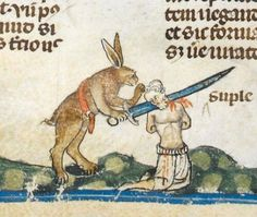 Medieval Times: Attack of the giant killer rabbits! | Dangerous Minds - Monty Python were right!