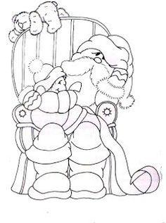 Pintura em Tecido Passo a Passo Com Fotos: Novos Lindos Riscos de Natal 2014