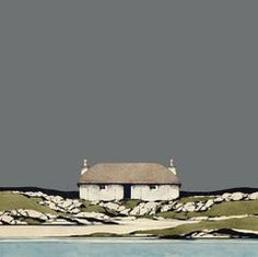 For Sale on - Uist Coast - Signed, Limited Edition Print, Contemporary Landscape by Ron Lawson, Digital Print by Ron Lawson. Offered by Alpha Art Gallery. Landscape Prints, Contemporary Landscape, Abstract Landscape, Landscape Paintings, Forest Landscape, City Landscape, Landscape Design, Alpha Art, Building Painting