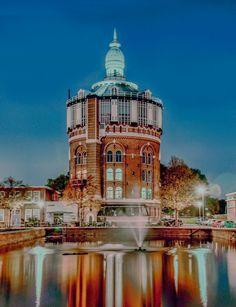 de esch oude watertoren in Rotterdam verbouwd tot appartementen