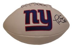 Phil Simms signed NY Giants logo full size football w/ proof photo.  Proof photo of Phil signing will be included with your purchase along with a COA issued from Southwestconnection-Memorabilia, guaranteeing the item to pass authentication services from PSA/DNA or JSA. Free USPS shipping. www.AutographedwithProof.com is your one stop for autographed collectibles from New York sports teams. Check back with us often, as we are always obtaining new items.