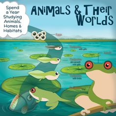Children LOVE to study Animals. Get outside, journal, have fun, read great living books and more in our Animals & Their Worlds program for K-4th grade. Take a break from dry learning and dive into WinterPromise.