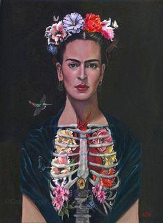 """nottheredbaron: """" Cate Rangel Frida Kahlo """""""