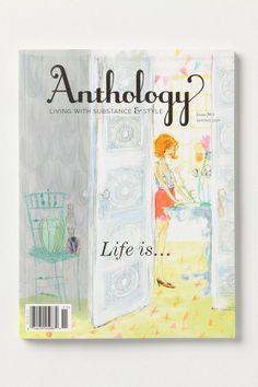 Anthology Magazine Issues #anthropologie