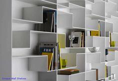 Wall to Wall bookshelves