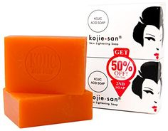 Kojie San Skin Lightening Kojic Acid Soap 135g 2 Piece ** This is an Amazon Affiliate link. Want additional info? Click on the image.