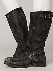 Stone Wash Slouch Boot.... been looking for some boots similar to this